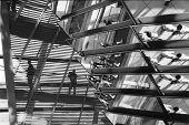 Berlin Reichstag Architecture Detail