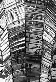 Berlin Reichstag Architecture Mirrors