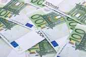 Euro Banknotes Background