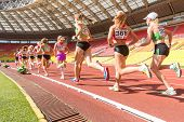 MOSCOW - JUN 11: Long-distance running on International athletic competition Moscow Challenge on Jun