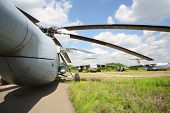 ZHUKOVSKY - JUNE 25: Airplanes and helicopter released from service, on June 25, 2012 in Zhukovsky n