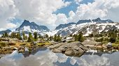 Ansel Adams Wilderness Alpine Lakes Scenery