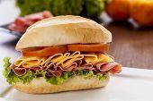Mortadela Sandwich