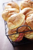 homemade crunchy popovers - food and drink