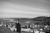 Old Gaelic Graveyard In Kincasslagh County Donegal