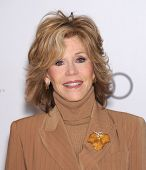 LOS ANGELES - DEC11:  Jane Fonda arrive to Women in Entertainment Breakfast 2013  on December 11, 20