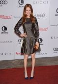 LOS ANGELES - DEC11:  Darby Stanchfield arrive to Women in Entertainment Breakfast 2013  on December