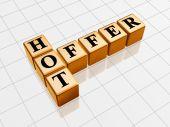 Golden Hot Offer Like Crossword