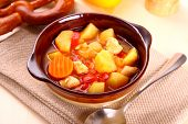 Vegetable Stew With Chicken And Potato