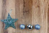 Christmas Decoration Turquoise