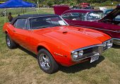 1967 Pontiac Firebird Side View