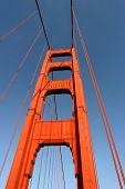 South Tower Of Golden Gate Bridge