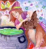 Witch's Brew on Halloween