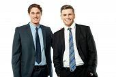 Portrait Of Successful Businessmen