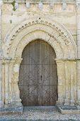 Very Old Church Door