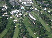 Aerial Of Pga Golf Evert