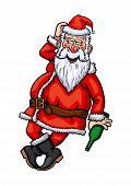 Santa Claus Drunk
