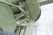 Mechanism Of Russian Anti-tank Regiment 57-mm Gun Of The Second World War