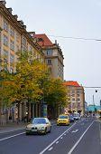 Wilsdruffer street in Dresden