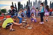Lag Baomer Bonfires In Israel