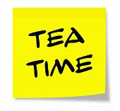 Tea Time Sticky Note