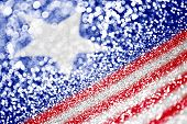 Patriotic American Flag Background