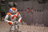 Nao Robot At Wired Next Fest In Milan, Italy