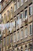 Venetian facade building