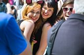 Krakow, Poland - May 10, 2013: Juwenalia, Is An Annual Students' Holiday In Poland, Usually Celebrat