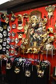 Masks In Venice