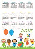 Kids Calander 2015