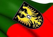 Flag Of Isny Im Allgau