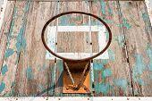 Old Basketball Board