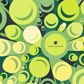 3d background, cylinders. Vector illustration. Element for web design. Bright wallpaper.