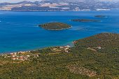 Adriatic landscape - Peljesac peninsula in Croatia
