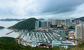 Typhoon shelter in Hong Kong