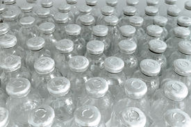stock photo of hplc  - Image of the Bottles of medicine - JPG