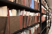 Shelves of Folders - Endless Documents