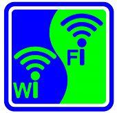Wifi sign vector