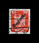 Dienstmarke stamp 1924