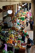 Mercado Dos Lavradores Market In Funchal, Portugal