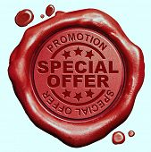 special offer hot sales promotion bargain webshop icon