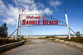 Sauble Beach Sign