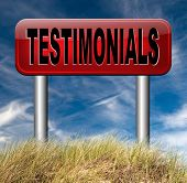testimonial customer feedback testimonials or leave a comment