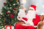 stock photo of letters to santa claus  - christmas - JPG