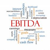 Ebitda Word Cloud Concept