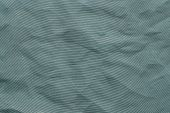 Crumpled Mesh Synthetic Fabric Of Indigo Color