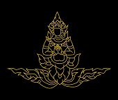 Gold Angel Thai Art