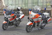 Luxembourg - Police used BMW motorcycles