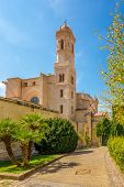 Belltower Of Cathedral San Nicola In Sassari